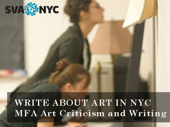 SVA Fall MFA 2014 Apply Now