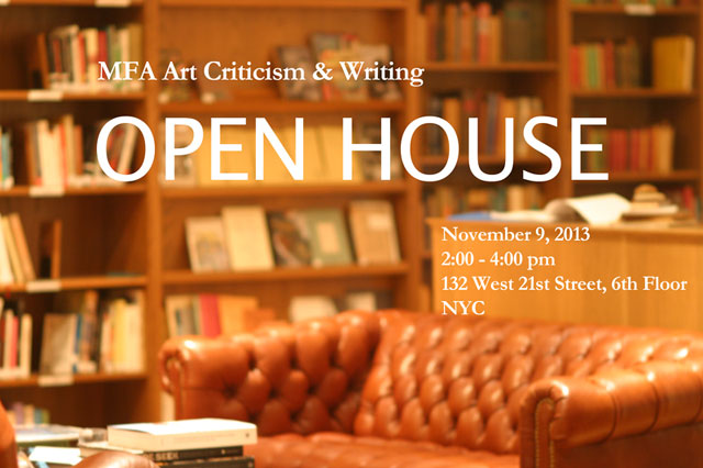 sva open house critical writing