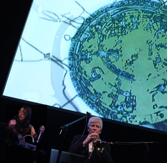 Angie Eng + Rhys Chatham 2010 NYC
