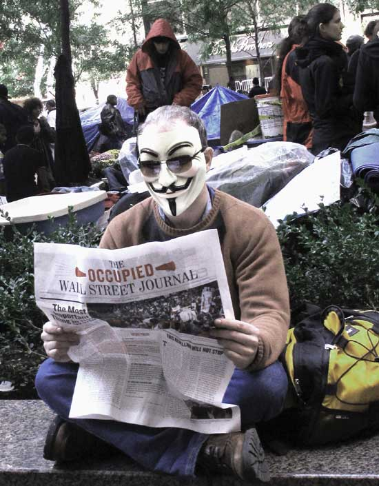 Occupy Wall Street Guy Fawkes Mask