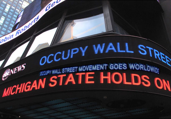 Occupy Wall Street Goes World Wide