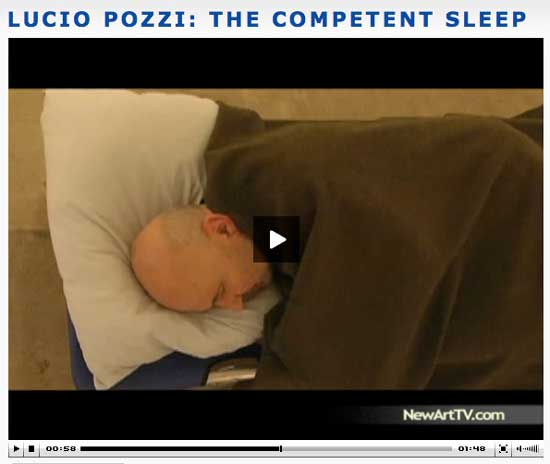 Lucio Pozzi - The Competent Sleep